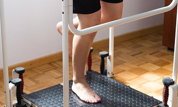 Fisioterapia Perna Máquina